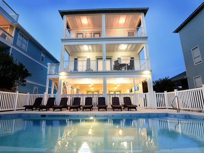 Photo for Crystal Vista | Heated Pool | Across From The Beach | Gulf View|  Daily Beach Chair Setup included