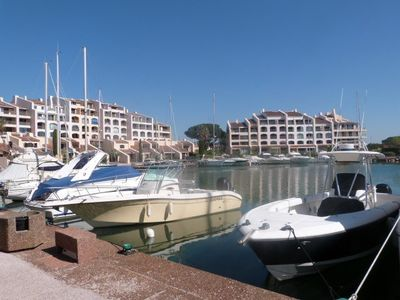 Photo for T2 to the Marines of Cogolin. Marina and sea view