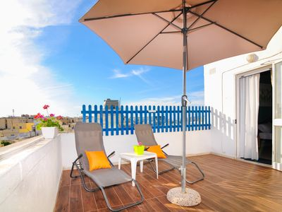 Photo for Family Penthouse w/ 3 terraces - BBQ area and Sunbathing terrace