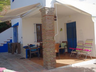 Photo for Holiday home in the olive grove with sea views and outdoor pool