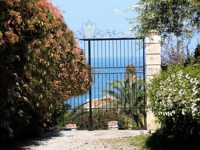 Photo for ancient 1700 Villa facing Eolie Island