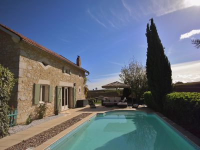 Photo for Beautifully Restored, Family Friendly Farmhouse with Private Pool, Sleeps 7 +cot