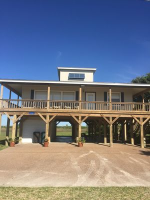 Photo for Spacious house with spectacular views offers wade fishing,kayaking & birding