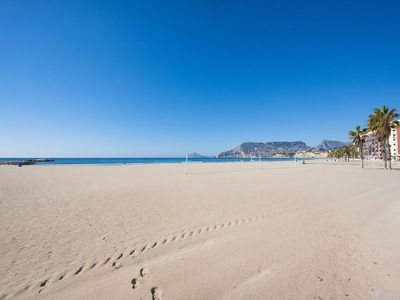 Photo for Calpe Apartment, Sleeps 4 with Air Con and WiFi