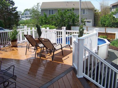 Photo for Pt Pleasant Beach 5 Beds POOL  Great for off season fall 2020 & 2021