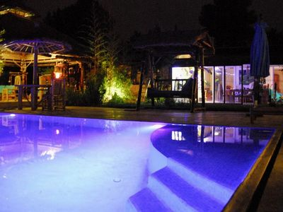 Photo for House Aix en Provence bamboo pool overflow