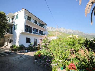 Photo for One bedroom apartment with balcony and sea view Podaca (Makarska)