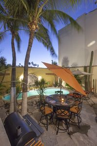 Many of our guests love to fire up the poolside grill (utensils provided).