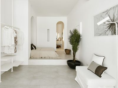 Photo for Le Blanc Nest Santorini is a Family/Couples friendly villa with a swimming pool