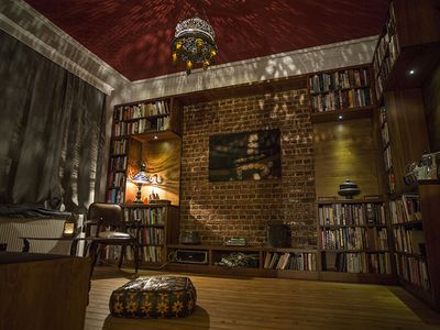 Photo for Heritage library flat in traditional neighborhood with Istanbul city center view