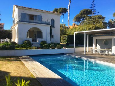 Photo for Villa with swimming pool in the heart of Cap d'Antibes