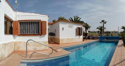 Photo for La Quinta 213 - 3 bed villa with private heatable  pool and air conditioning