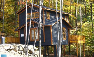 Photo for 1BR Chalet Vacation Rental in Stoneham, QC