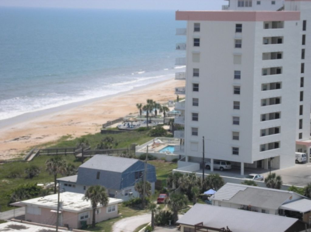 Quiet Ocean Front Daytona Ormond BeachCondo HomeAway Seawinds - Daytona beach oceanfront house rentals