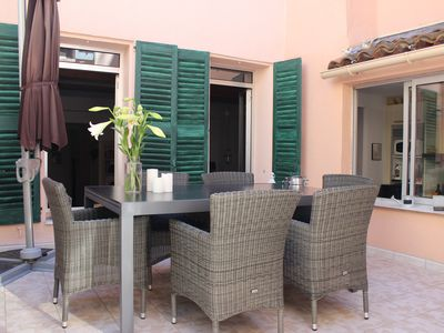 Photo for Central location, Palais and beach, high quality and a large terrace