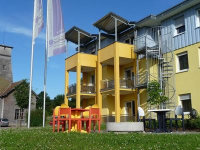 Photo for A holiday home for four people in a sports complex between Lake Constance and the Black Forest.