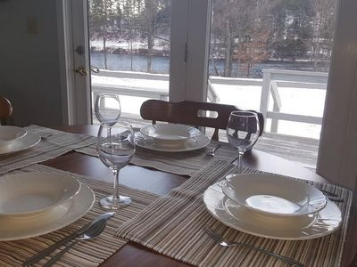 Photo for Home on the Hudson near Gore Mountain and North Creek with wi-fi and two baths