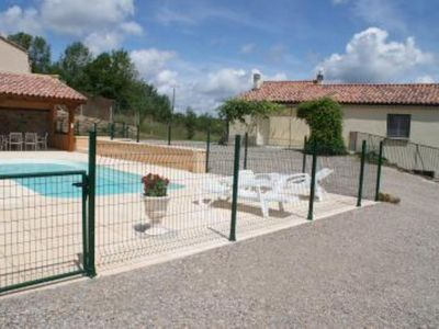 Photo for cottage in the countryside with private pool, covered summer kitchen in Thégra