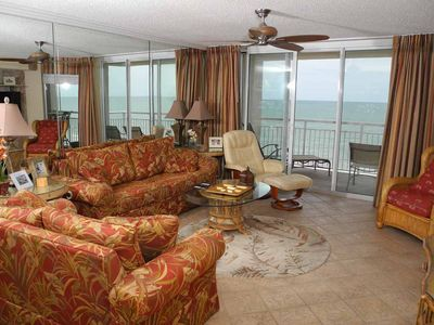 Photo for South Shore Villa Unit 706! Stunning Oceanfront Premium Condo. Book your get away vacation today!