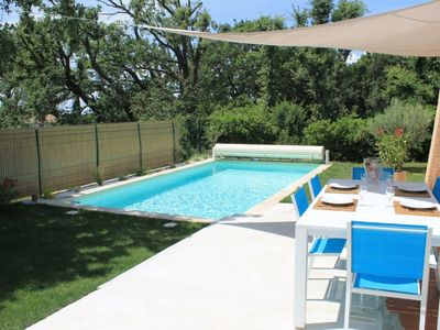Photo for A corner of Provence - Villa 130M2 with secured pool