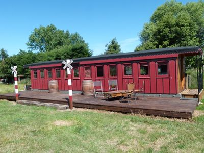Photo for 1889 Wooden Train Carriage - Wacky Stays - six unique properties