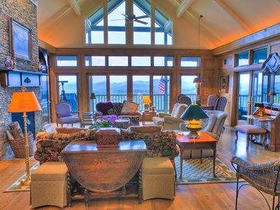 Photo for Highlands Country Club Home with Amazing Mountain Top Views