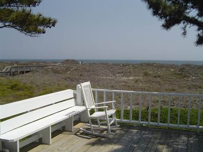 Photo for Well Appointed 4 bedroom oceanfront home with great views from the Screen porch