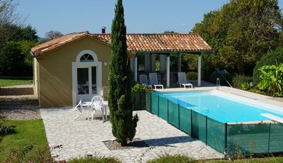 "Photo for La Bakénia, Gite airco ""Joini"" with swimming pool"