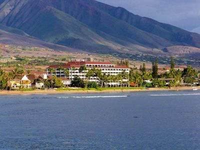 Photo for Sweeping Mountain  Views from Lahaina Shores Studio ~ Sleeps 2