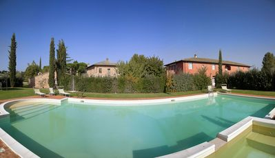 Photo for Two Bedroom First Floor Apartment Montepulciano   L'Arcolaio is a charming apartment in a pretty farmhouse