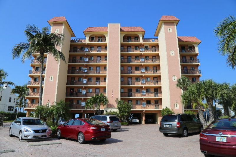 When you vacation at this first-floor condo at Cane Palm #105, you are steps away from the sugary white sands of Fort Myers Beach.