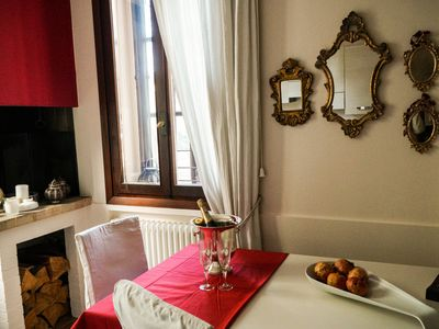 Photo for Mini furnished apartment in Villa Liberty with garden near Vicenza center