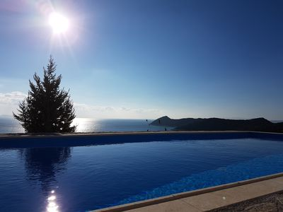 Photo for Artemis,Breathtaking view, Schinias, Athens!Entire home/pool/EOT0208Κ92000302501