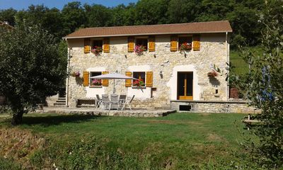 Photo for Moulin de Mirau, comfortable renovated barn in the Diege valley