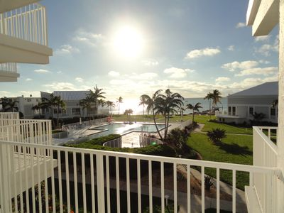 Feb./March NOW OPEN Oceanfront Condo, Private Beach, Adult Community, Huge Pool