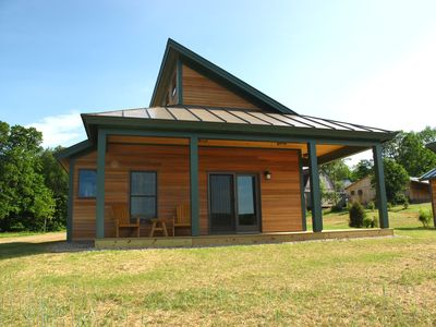 Photo for Experience life on a Vermont Farm in a Beautiful Modern Cabin - Stunning Views!