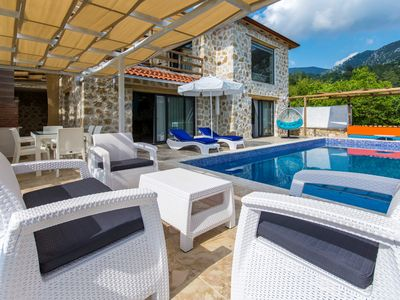 Photo for Brand New Stone-Built 2 Bedroom Villa with Secluded Pool and Distant Sea Views