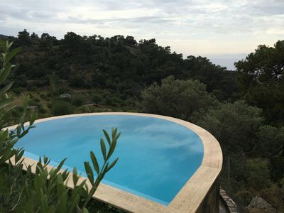 Photo for Palm House Dalyan - Town House with View and Exclusive Pool