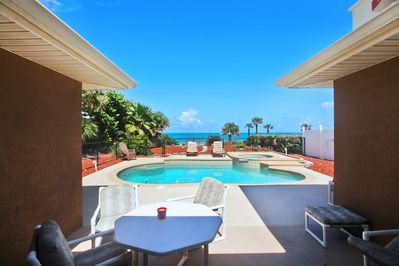 This is truly Paradise, you own private home with beach access.