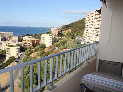 Photo for AJACCIO - Charming sea view studio ST-246