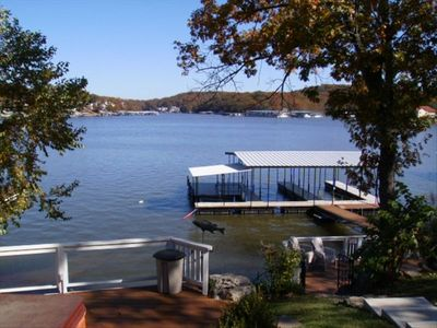 Spectacular Cove View from the Hot Tub and New Dock Area