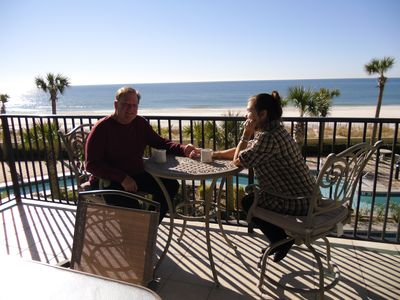 Photo for 3 Br 3 1/2 Ba Beach Front Phoenix W. Condo Floor Above Lobby. Parking On Floor!