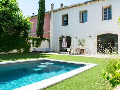 Photo for BEAUTIFUL VILLAGE HOUSE WITH POOL NEAR MONTPELLIER