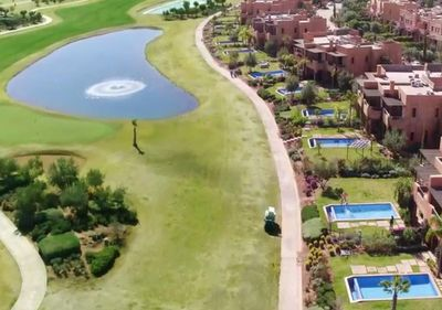 LES JARDINS DE L'ATLAS GOLF COURSE VILLAS LAYOUT