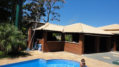 Photo for Gorgeous Sitio with wide green area !! Pool !! Lake !! Barbecue grill !!