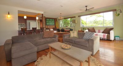 Open plan living with sea breeze and cool comfort