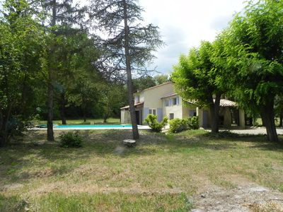 Photo for VILLA WITH HEATED POOL IN THE HEART OF PROVENCE