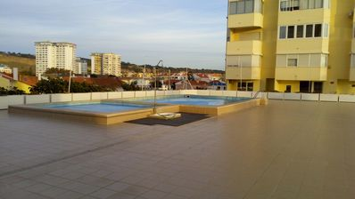 Photo for Nice apt with pool access and balcony
