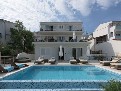 Photo for Private 5 ☆ villa with pool, sea & relax in Trogir