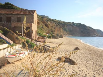 Photo for Porto Paglia - Casa Nina, old fisher's house on the beach